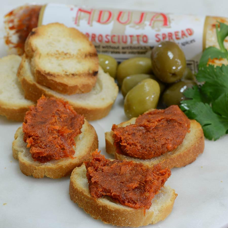 La Quercia - Nduja - Spicy Prosciutto Spread 5 Oz - Pate - La Courtisane Gourmet Food