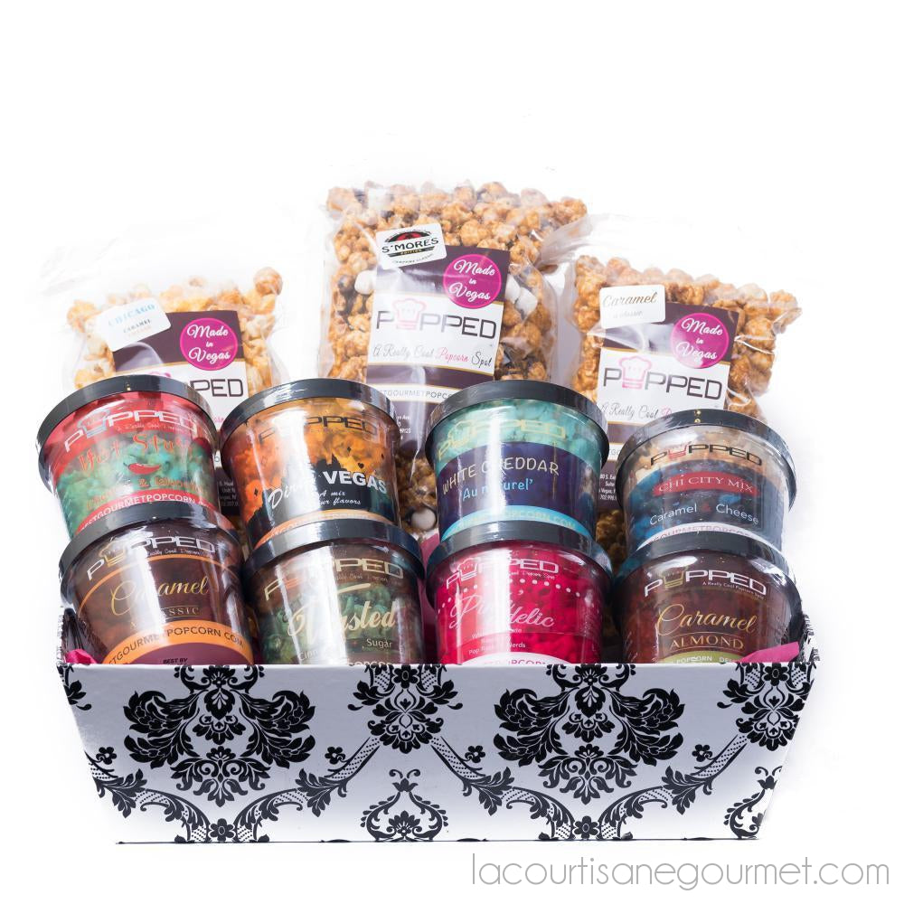 Large Gift Basket With Bags - Product - La Courtisane Gourmet Food