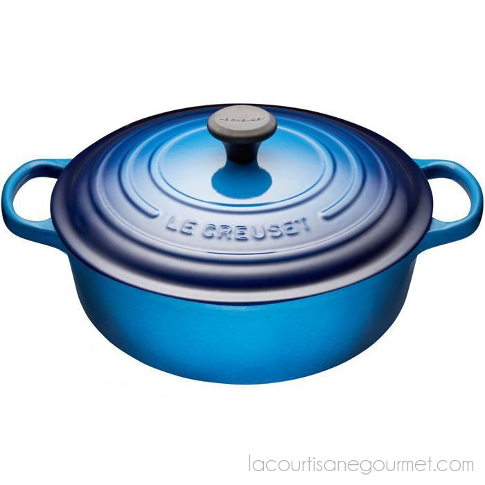 Le Creuset Blueberry Shallow Round French Oven 62l La
