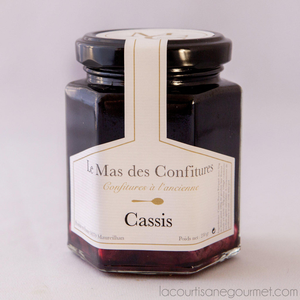 Le Mas Des Confitures - Blackcurrant Preserve - Preserve - La Courtisane Gourmet Food