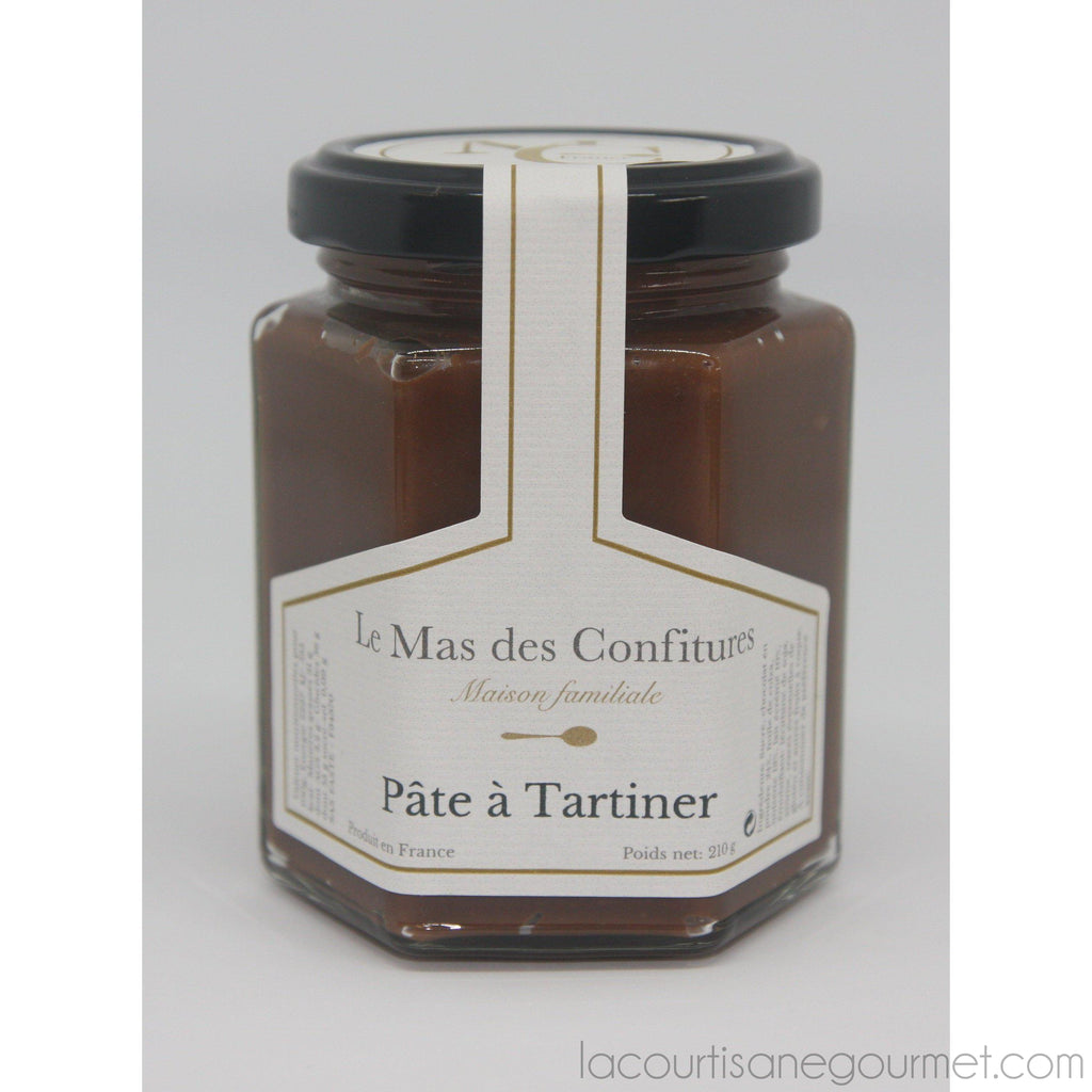 Le Mas Des Confitures - Chocolate Speculoos Spread Without Oil Palm - chocolate spread - La Courtisane Gourmet Food