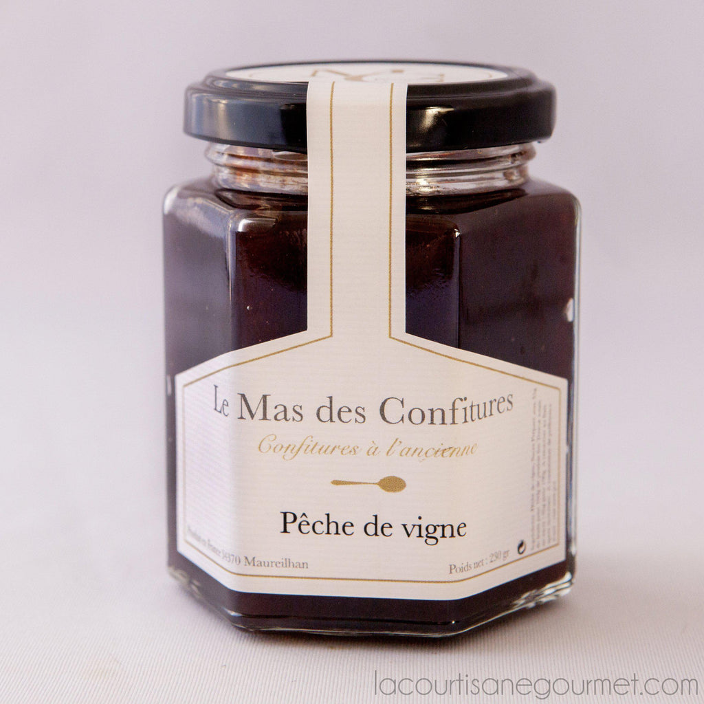 Le Mas Des Confitures - Peach Of Grapevine Preserve - Preserve - La Courtisane Gourmet Food