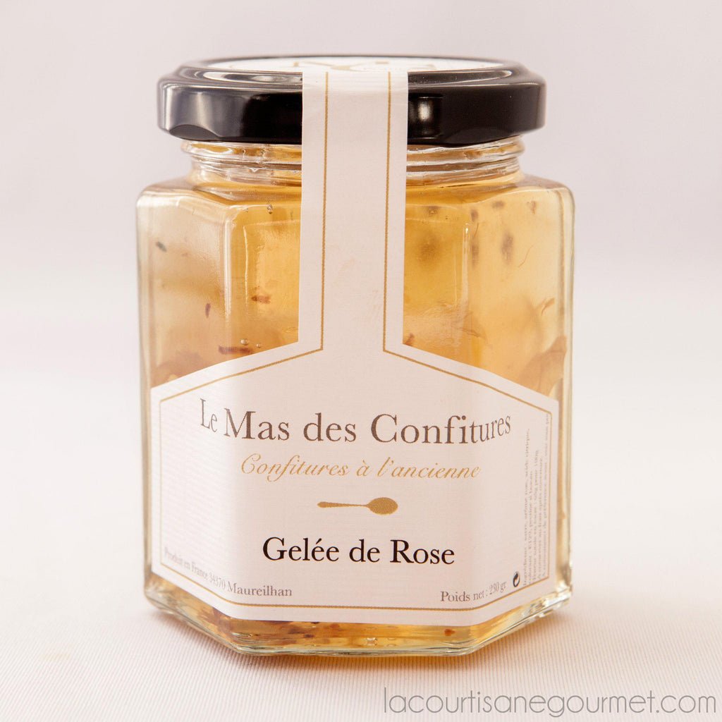 Le Mas Des Confitures - Rose Jelly - Jellies - La Courtisane Gourmet Food