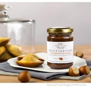 Les Toques Blanches Du Monde - Gianduja Spread With Hazelnuts From Piedmont Igp 10.58Oz (300G) - spread - La Courtisane Gourmet Food