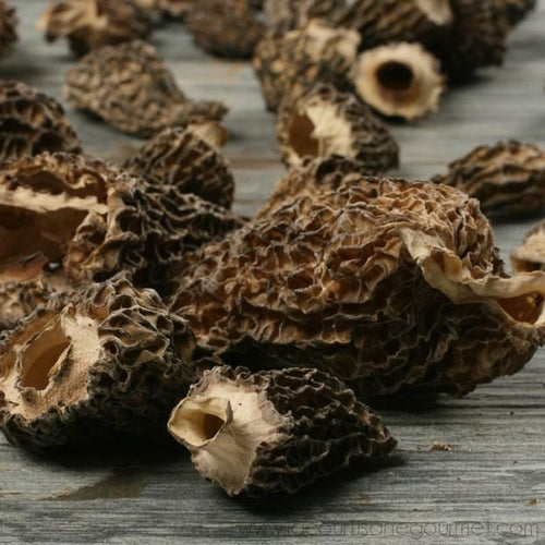 Life Gourmet Shop - Dried Morel Mushrooms 4 oz - Dried Mushroom - La Courtisane Gourmet Food