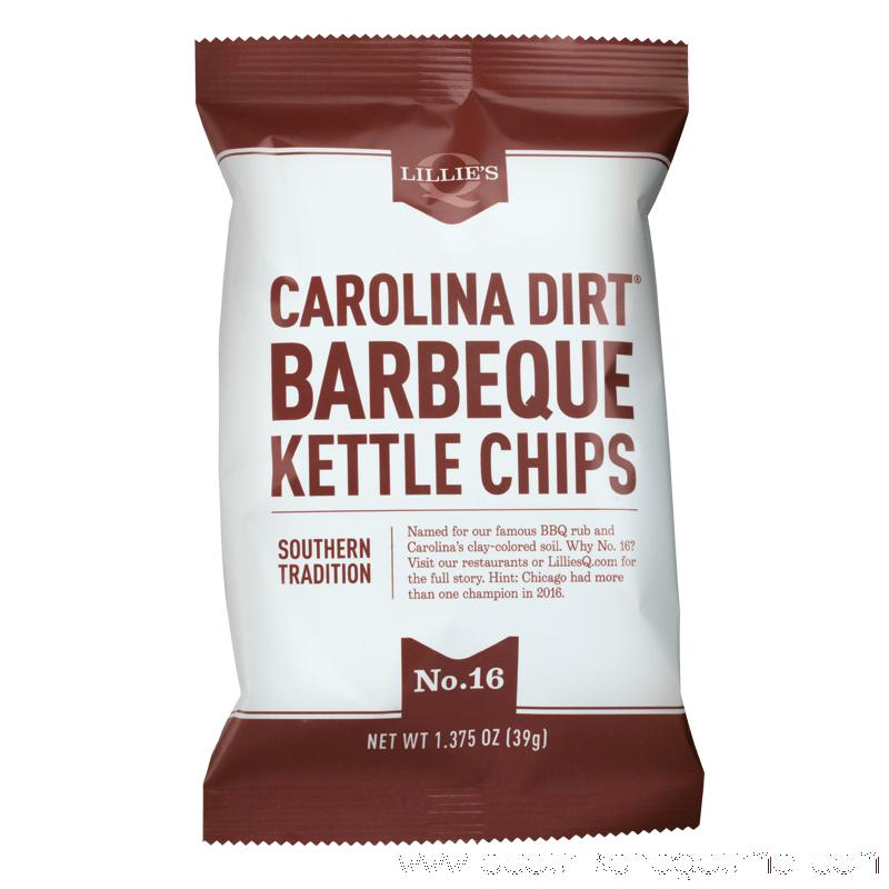 Lillie's Q - Carolina Dirt Kettle Chips 1.375 oz - Chips - La Courtisane Gourmet Food