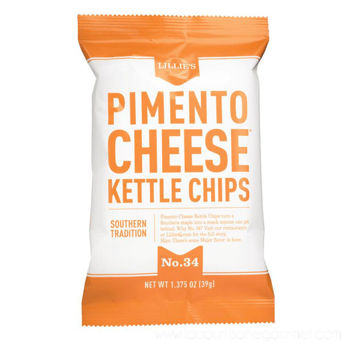 Lillie's Q - Pimento Cheese Kettle Chips 1.375 oz - Chips - La Courtisane Gourmet Food