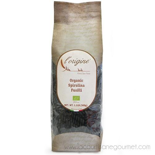 L'Origine - Organic Fusilli with Spirulina Algae 1.1 Pound - Pasta - La Courtisane Gourmet Food