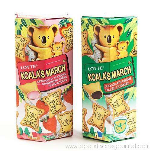 Lotte - Koala's March Creme-Filled Cookies 1.45 Oz - Cookies - La Courtisane Gourmet Food