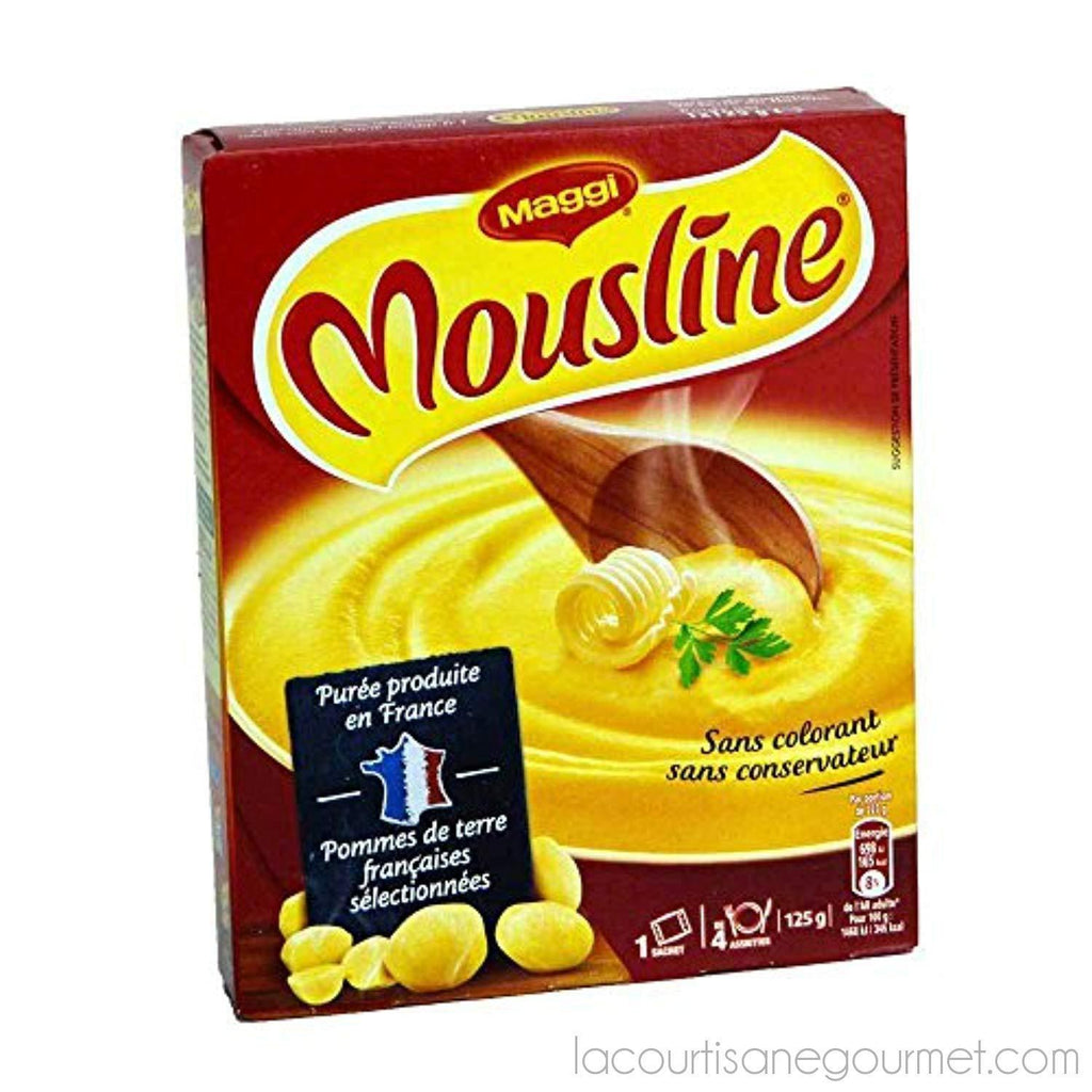Maggi Mousline Puree - French Instant Mashed Potato Mix - Serves 4 - Puree - La Courtisane Gourmet Food