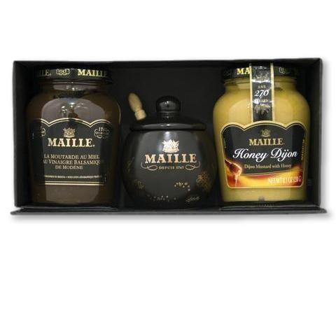 Maille - Honey Duo Mustard Collection - Mustard - La Courtisane Gourmet Food