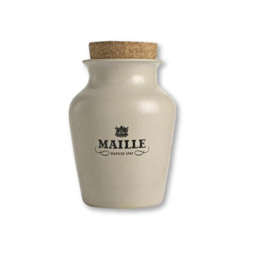Maille - White Truffle Mustard With Chardonnay White Wine, Freshly Pumped 4.4Oz - Mustard - La Courtisane Gourmet Food