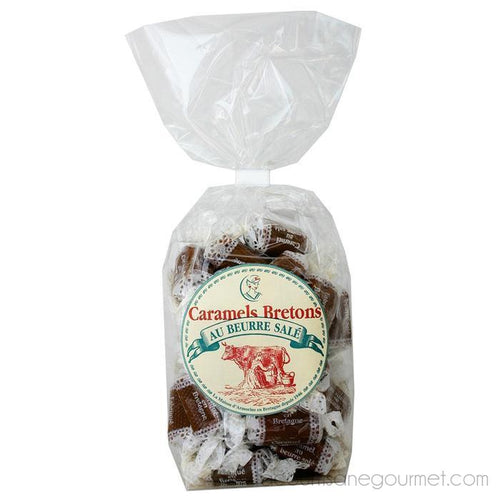Maison Armorine - Soft Salted Caramel Bag 200g - spread - La Courtisane Gourmet Food