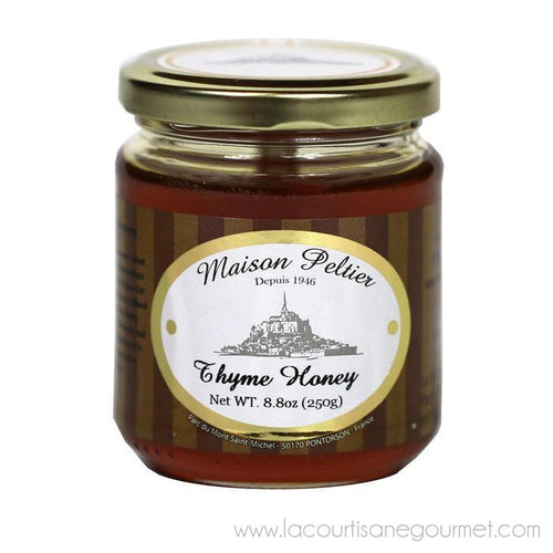 Maison Peltier - French Raw Thyme Honey, 250g (8.8 oz) - Honey - La Courtisane Gourmet Food