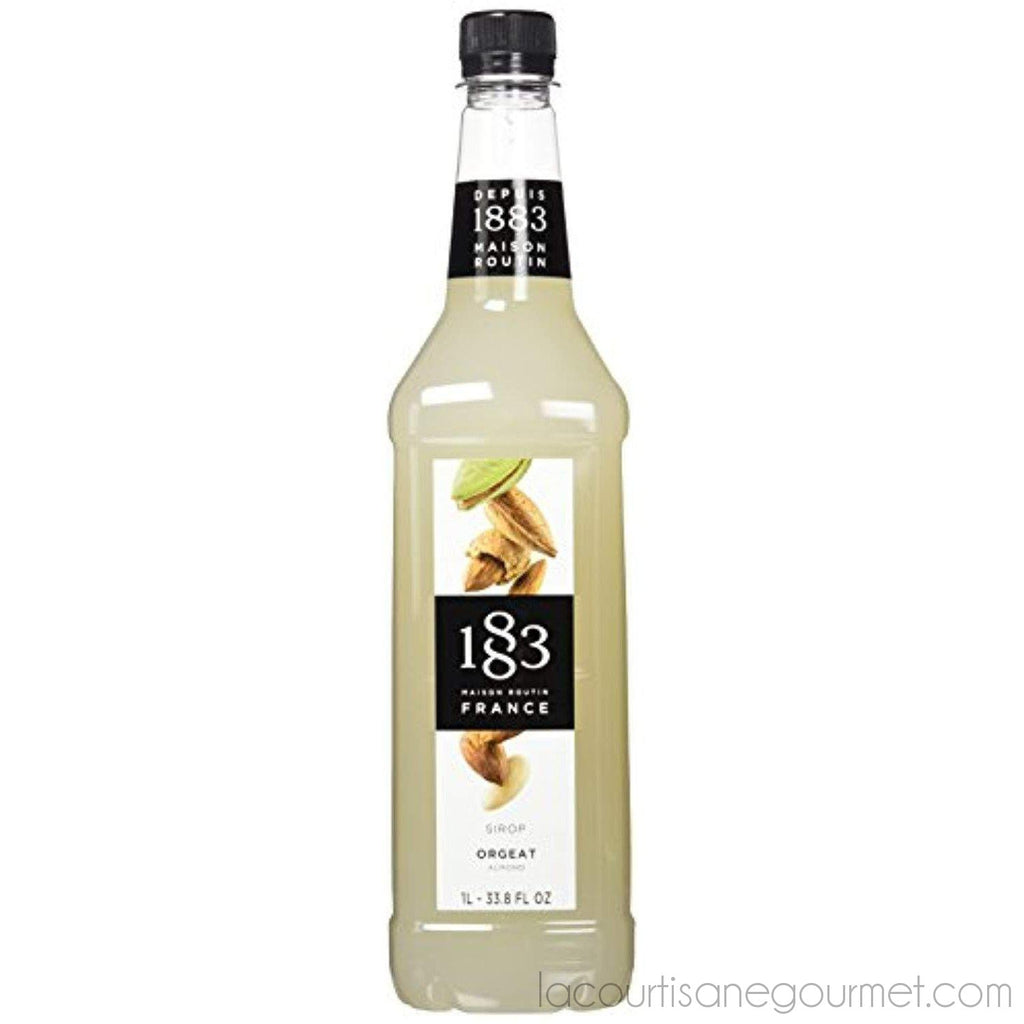 Maison Routin 1883 Almond Syrup, Pet Bottle 1000 Milliliter - Syrup - La Courtisane Gourmet Food