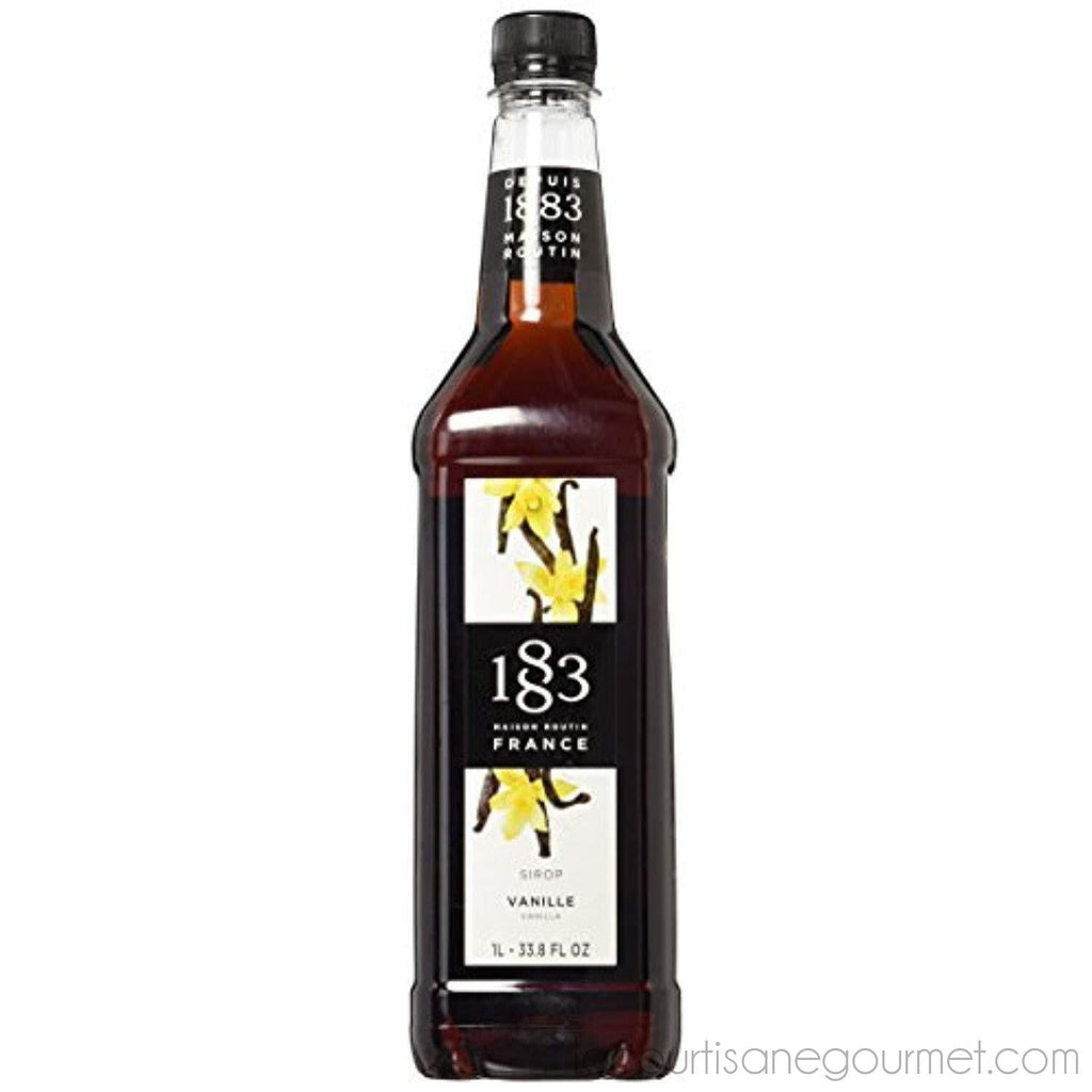 Maison Routin 1883 Vanilla - Pet Bottle - 1 Liter - Syrup - La Courtisane Gourmet Food