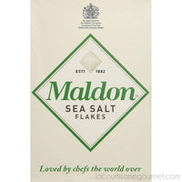 Maldon Sea Salt - Flakes, 8.5 Ounce Box - Sea Salt - La Courtisane Gourmet Food