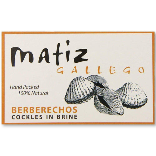 Matiz Gallego Berberechos In Brine, Cockles - 4 Oz - Mussel - La Courtisane Gourmet Food