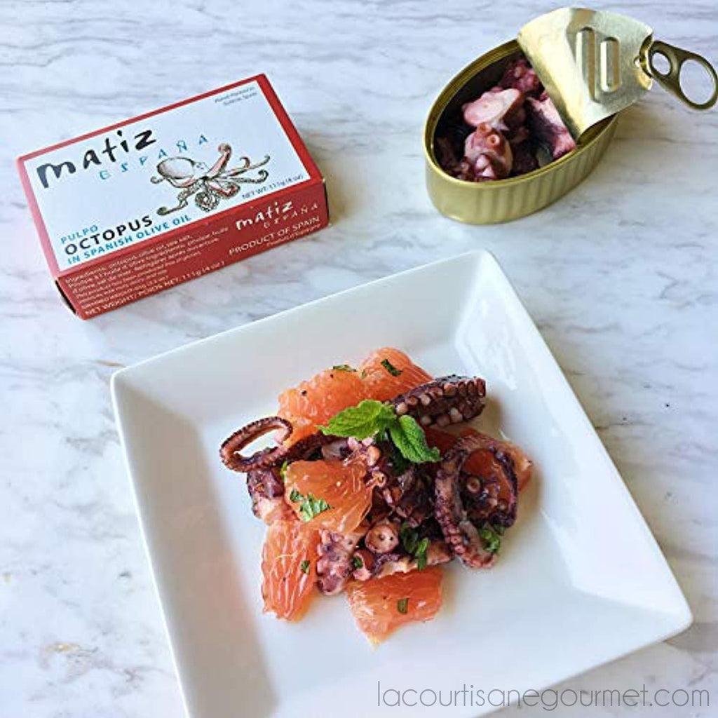 Matiz Sardines And Octopus Pulpo In Olive Oil (Variety Pack Of 5) - Sardines - La Courtisane Gourmet Food