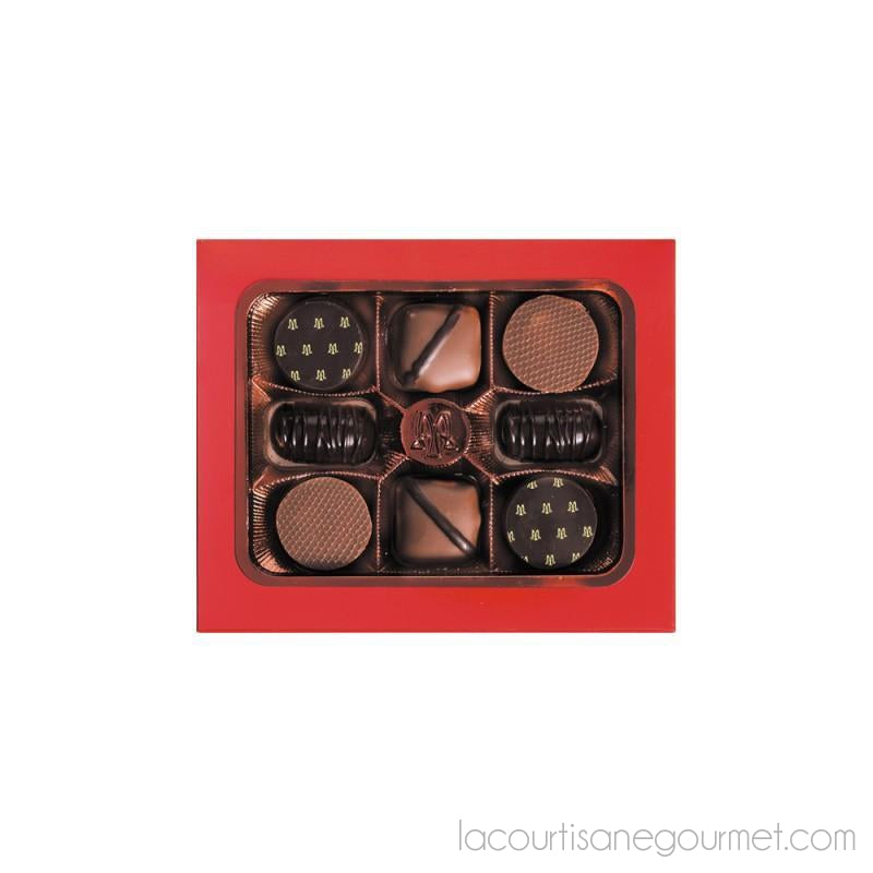 Maxim'S Paris - Cardbox 8 Chocolates - Chocolate - La Courtisane Gourmet Food