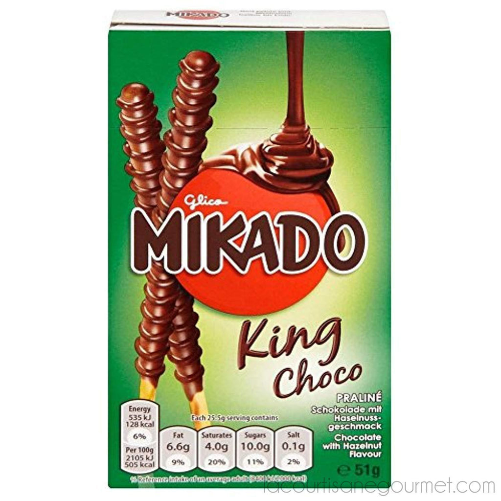 Mikado King Choco (51G) - - La Courtisane Gourmet Food