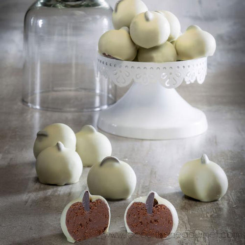 Miot *Tetons Reine Margot* White & Milk Chocolate Covered Almond Sweets, 4.8oz (135g) - Candies - La Courtisane Gourmet Food