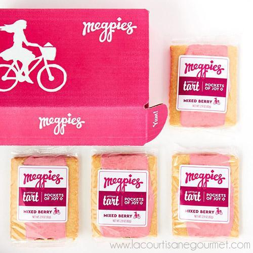 Mixed Berry Megpies 4-Pack 10.8 oz - Butter - La Courtisane Gourmet Food