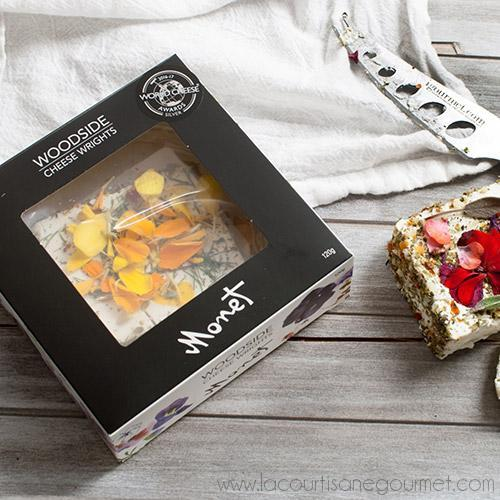 Monet - Australian Chevre with Edible Flowers 4.23 oz - Cheese - La Courtisane Gourmet Food