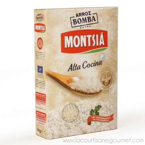 Montsia - Bomba Rice 2.2 oz - Rice - La Courtisane Gourmet Food