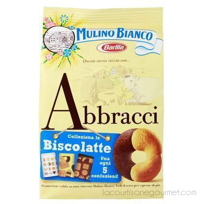 Mulino Bianco Abbracci Biscuits 12.3 Oz. (348G) - cookies - La Courtisane Gourmet Food