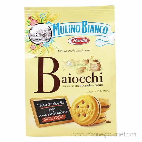 Mulino Bianco Baiocchi Cookies 9.1 Oz. (257G) - cookies - La Courtisane Gourmet Food