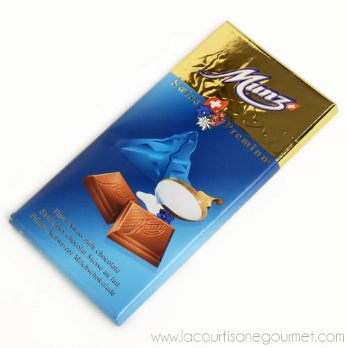Munz - Swiss Chocolate Bar 100 grams - Chocolate Bars - La Courtisane Gourmet Food