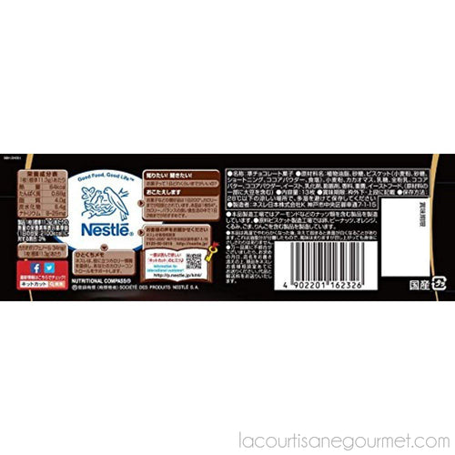 Nestle - Kitkat Dark Chocolate Flavor, 5.5 Oz Bag - - La Courtisane Gourmet Food