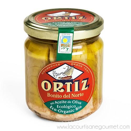 Ortiz - Organic Bonito del Norte Tuna in Extra Virgin Olive Oil 220 grams - Canned Goods - La Courtisane Gourmet Food