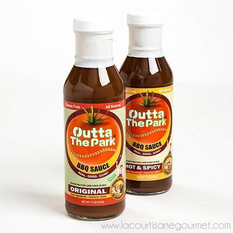 Outta the Park - North Carolina BBQ Sauce 15 oz - BBQ Sauce - La Courtisane Gourmet Food