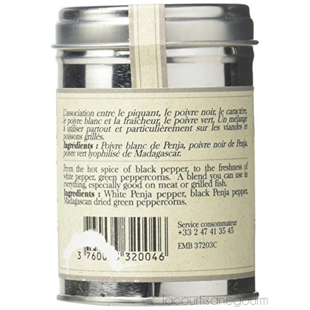 Penja Three Pepper Mix By Terre Exotique - pepper - La Courtisane Gourmet Food