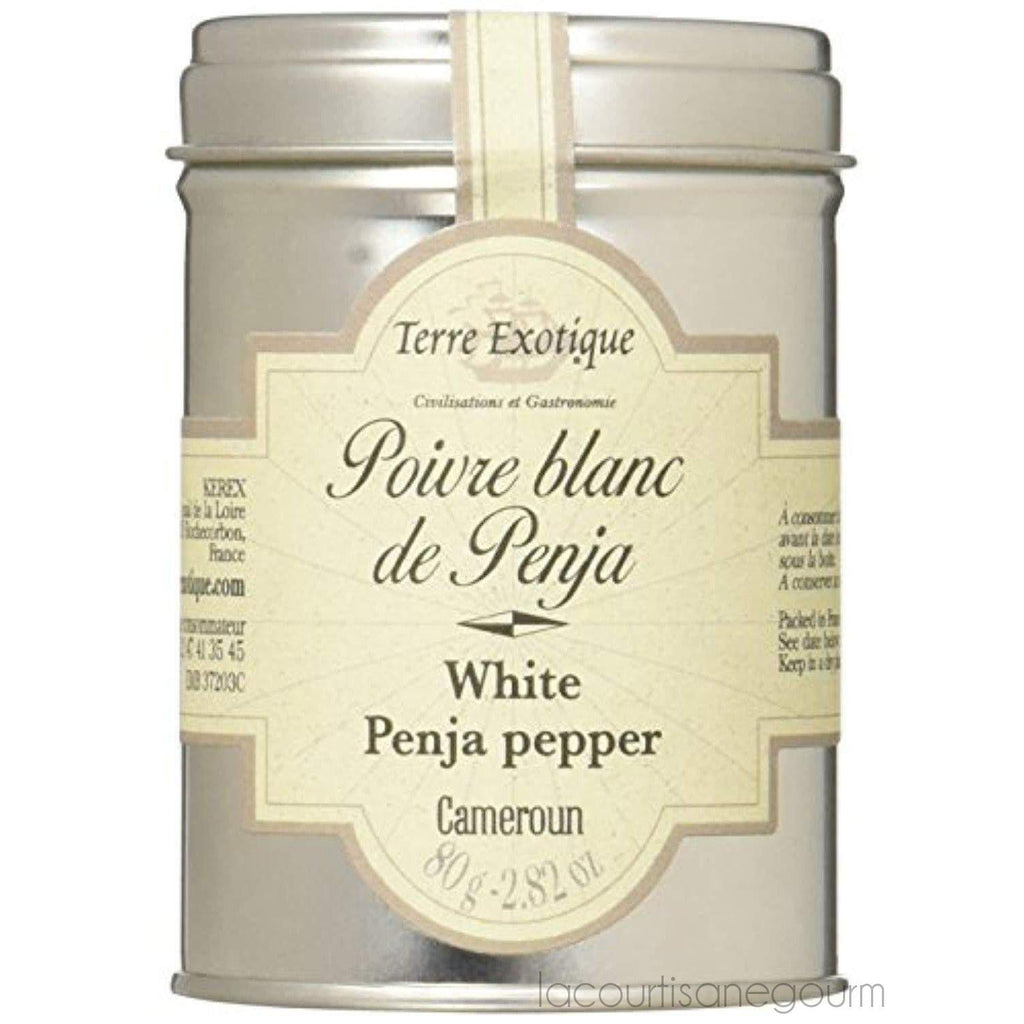 Penja White Pepper By Terre Exotique - pepper - La Courtisane Gourmet Food