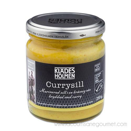 PK Konserver - Herring in Curry 8.8 oz - Herring in Curry - La Courtisane Gourmet Food