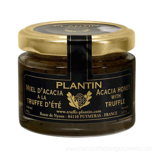 Plantin - Acacia Honey with Summer Truffle - Jar 90g Plantin - Honey - La Courtisane Gourmet Food