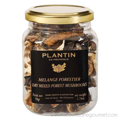 Plantin - Dry Mix Forest Mushrooms (Melange Forestier) 50g - Truffle - La Courtisane Gourmet Food
