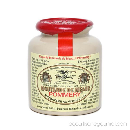 Pommery French Mustard From Meaux 17.6 Oz - Mustard - La Courtisane Gourmet Food