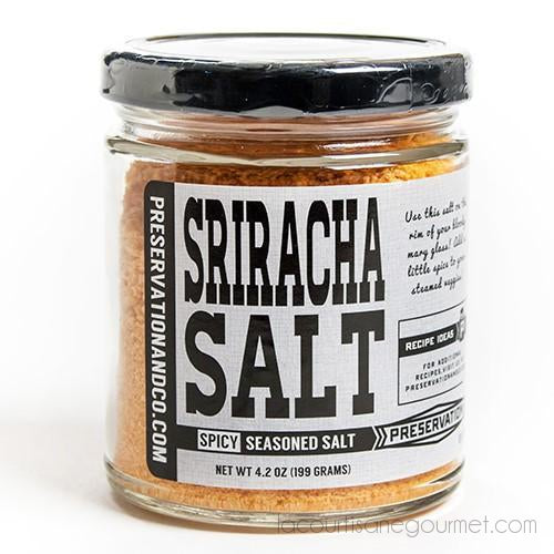 Preservation & Co - Sriracha Salt 4.2 Oz - Salt - La Courtisane Gourmet Food