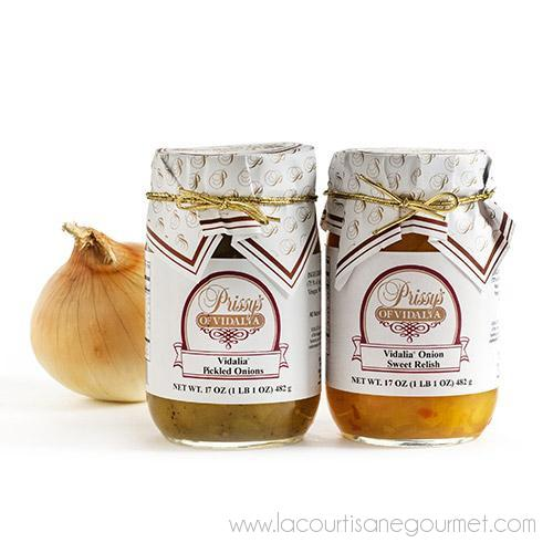 Prissy's of Vidalia - Vidalia Onion Creations 16 oz - Pickles - La Courtisane Gourmet Food