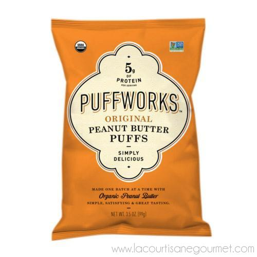 Puffworks - Peanut Butter Puffs 3.5 oz - Snack - La Courtisane Gourmet Food