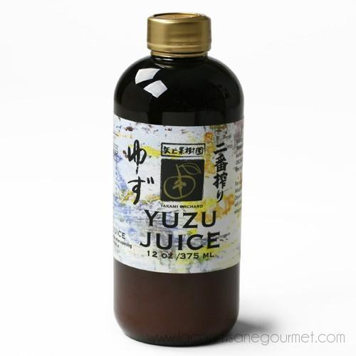 Pure Japanese Yuzu Juice 12 oz - Juice - La Courtisane Gourmet Food