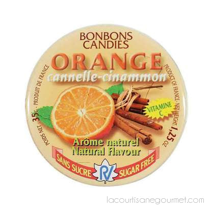 Rendez Vous - Sugar-Free Orange Cinnamon Candy, 1.2 Oz - Candies - La Courtisane Gourmet Food