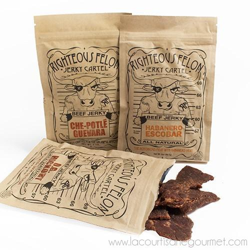Righteous Felon - Jerky 2 oz - Jerky - La Courtisane Gourmet Food