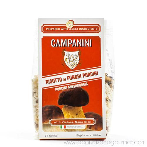 Riseria Campanini - Risotto with Porcini Mushrooms 8.8 oz - Rice - La Courtisane Gourmet Food