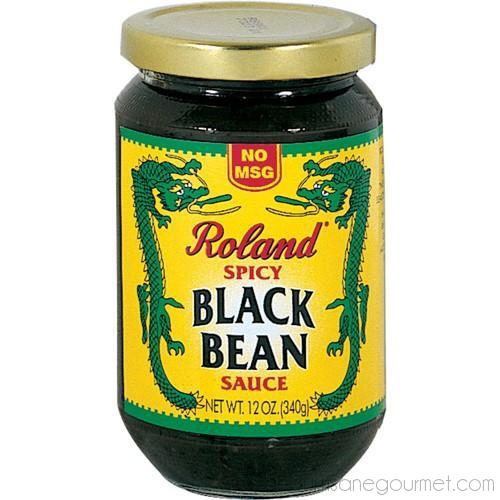 Roland - Spicy Black Bean Sauce 7 oz - Beans - La Courtisane Gourmet Food