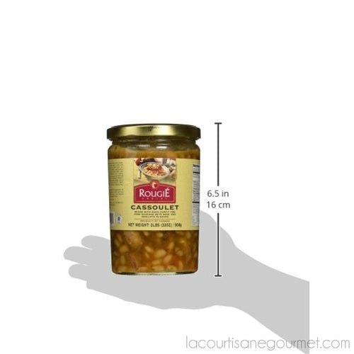Rougie - Cassoulet With Duck Confit Fully Cooked, 2 Lb (900G) - Cassoulet - La Courtisane Gourmet Food